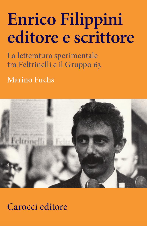 Enrico Filippini editore e scrittore Marino Fuchs Carocci Copertina